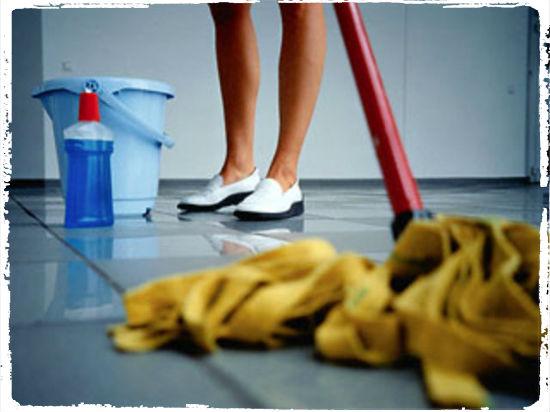 Седмично организиране на рутинното почистване